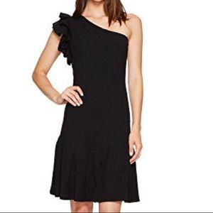 NWT Rebecca Taylor One Shoulder Jersey Dress